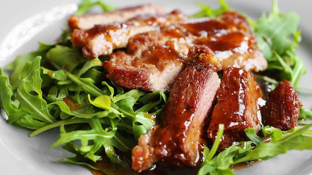 Thịt thỏ nướng thơm ngon