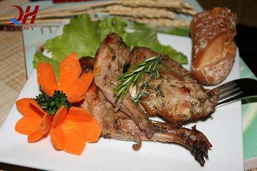 Thịt thỏ có hàm lượng chất dinh dưỡng cao hơn tất cả các loại thịt khác