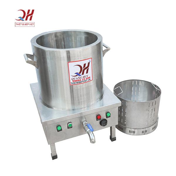 Nồi điện nấu phở inox 304 Quang Huy