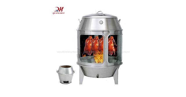Lò quay gà vịt nướng cao cấp Quang Huy