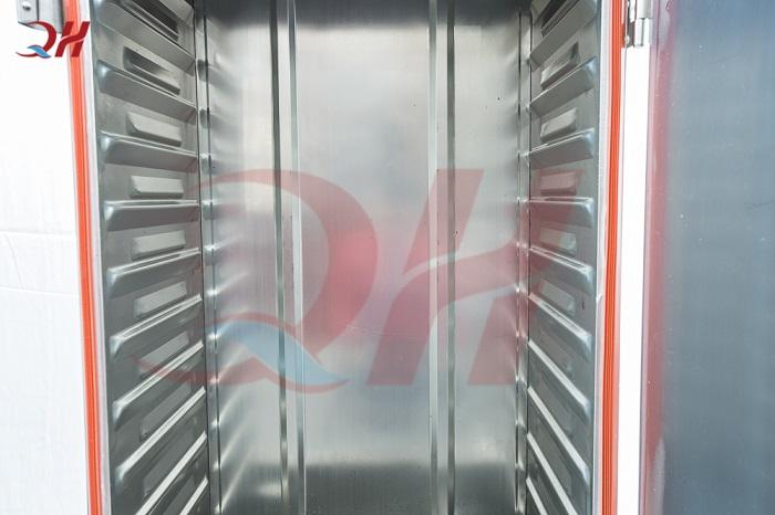 Tủ nấu cơm công nghiệp 6 khay chạy gas