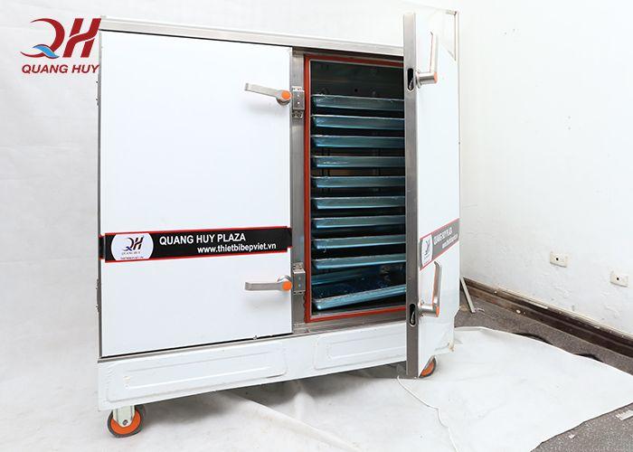 Tủ cơm công nghiệp Quang Huy đảm bảo về chất lượng