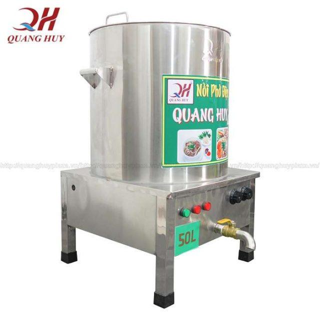 Nồi Nấu Phở 50 Lít Quang Huy