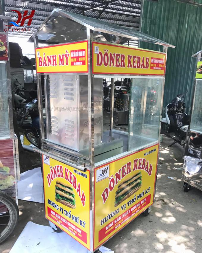 Hỏi giá xe bán bánh mì doner kebab có đắt hay không? 3