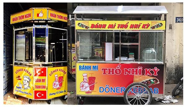 Địa chỉ cung cấp xe bánh mì tại Hà Nội 1