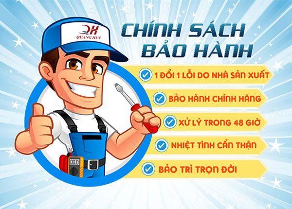 Chính sách bảo hành dài hạn 12 tháng tại Quang Huy