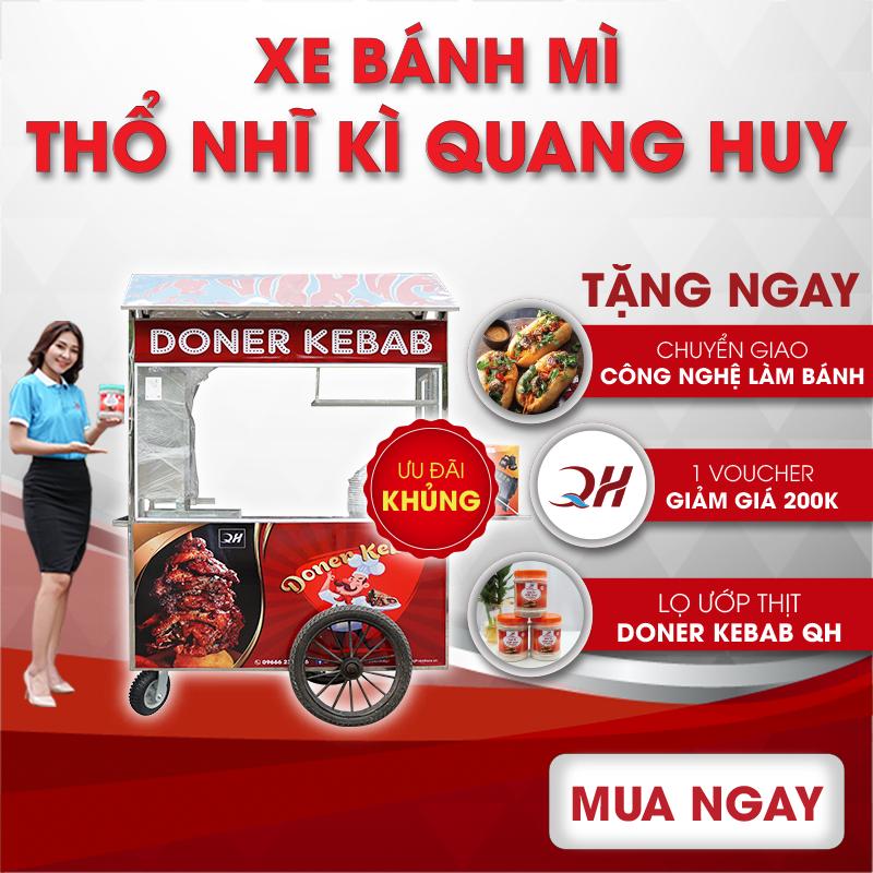 Những ưu đãi cực khủng khi mua xe bánh mì thổ nhĩ kỳ tại Quang Huy