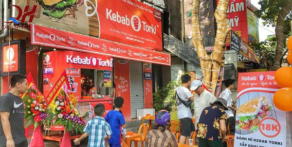 Hệ thống chuỗi cửa hàng bánh mì Kebab Torki với chính sách nhượng quyền nổi tiếng
