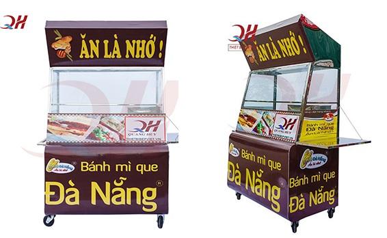 Tìm hiểu giá xe bánh mì pate tại Hà Nội