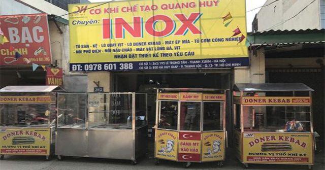 Địa chỉ mua xe bánh mì chính hãng tại Hà Nội