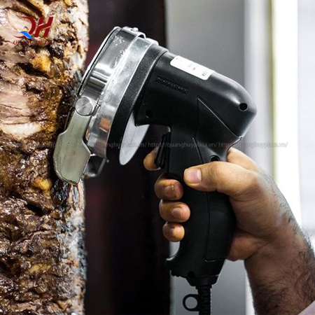 Điều bạn chưa biết về máy cắt thịt doner kebab tự động 1