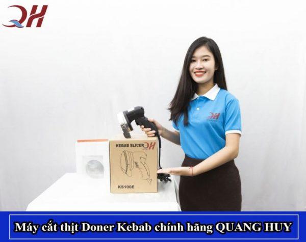 Máy cắt thịt Doner Kebab chính hãng giá rẻ của Quang Huy