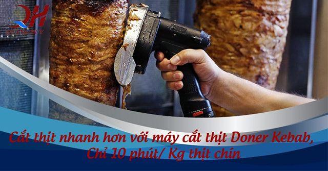Cắt thịt nhanh hơn nhờ máy cắt thịt cầm tay