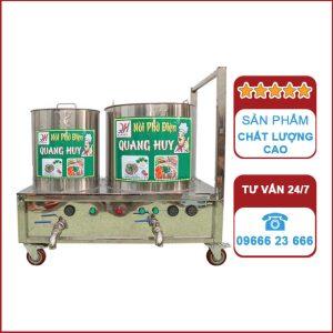 Bộ 2 nồi nấu phở điện chung bệ Quang Huy