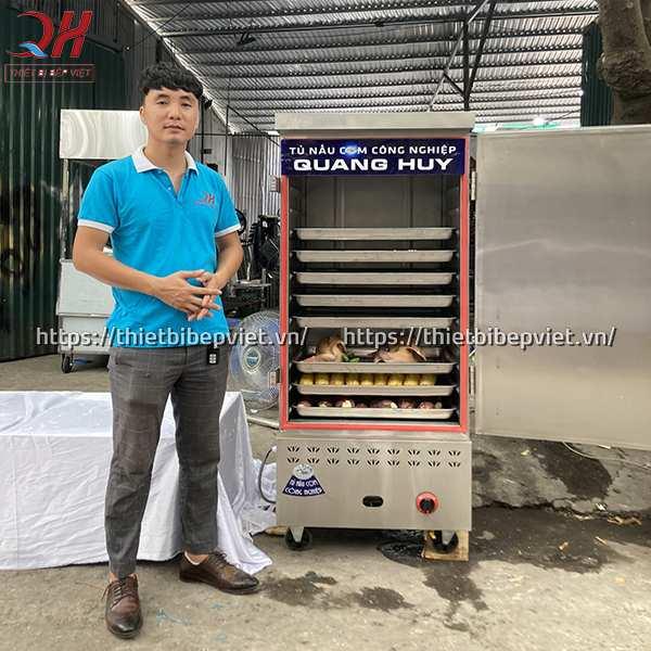 Tủ nấu cơm công nghiệp tiết kiệm chi phí điện, gas cho người tiêu dùng
