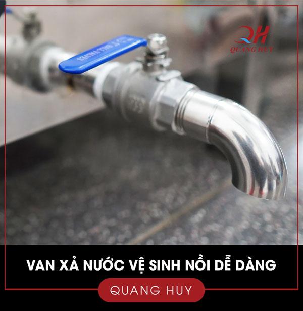 Van xả nước vệ sinh nồi điện nấu phở