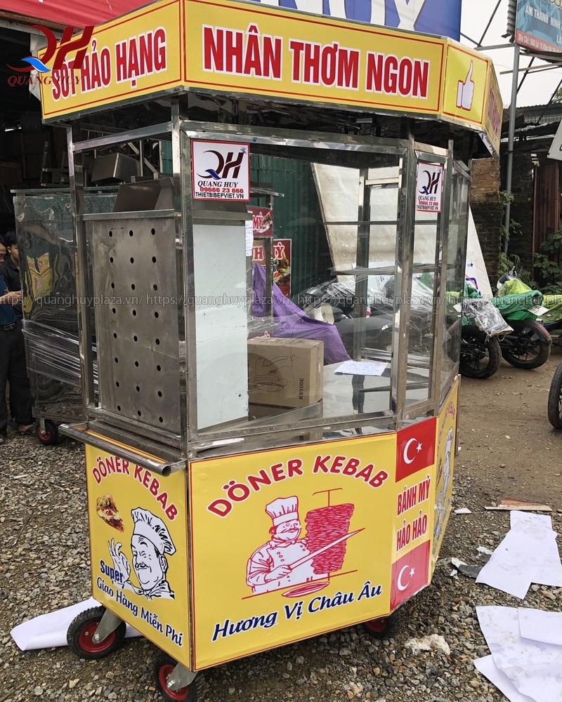 Nên mua xe đẩy bánh mì của cơ sở Quang Huy