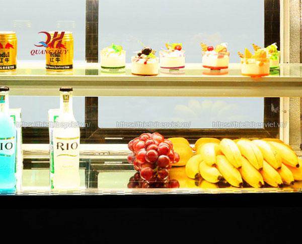 Bảo quản bánh kem, đồ uống, hoa quả