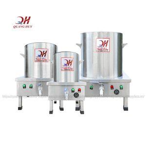 Bộ 3 nồi điện nấu phở Quang Huy inox 304