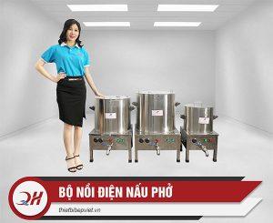 Bộ nồi nấu phở điện Quang Huy 25lit-50lit-80lit