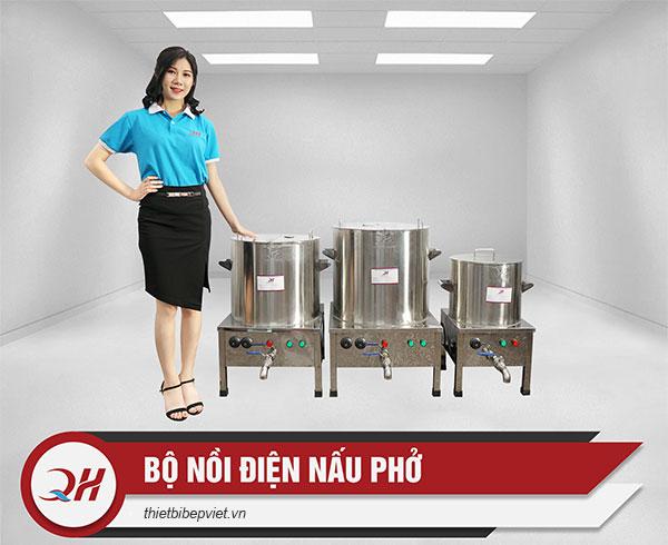Bộ nồi điện nấu phở Quang Huy