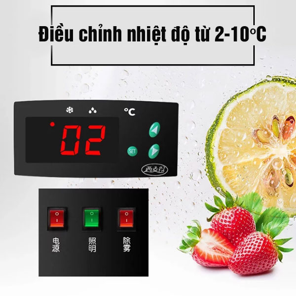 Hướng dẫn điều chỉnh nhiệt độ tủ bánh kem