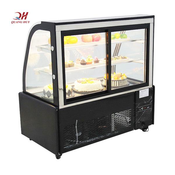Mặt sau tủ bánh kem 3 tầng Quang Huy