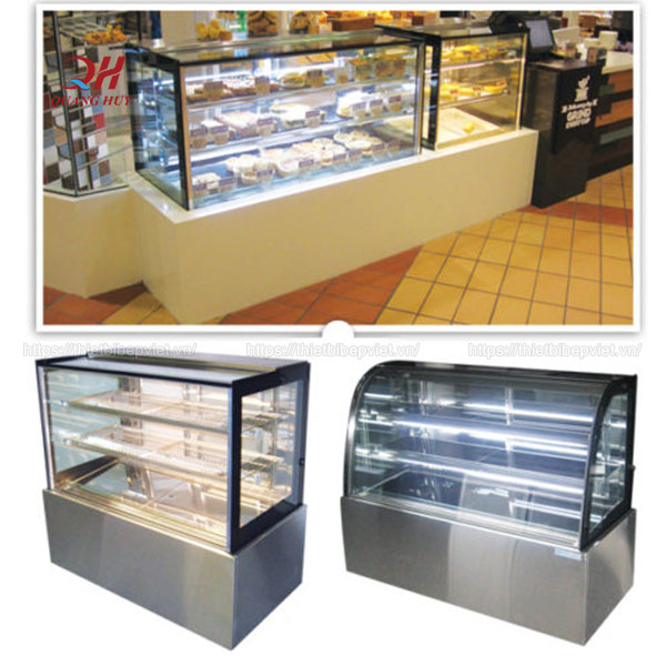 Mẫu tủ để bánh sinh nhật, gato tại cửa hàng bánh kem