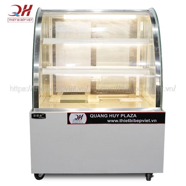 Tủ bánh kem 3 tầng ( màu trắng ) Quang Huy phân phối