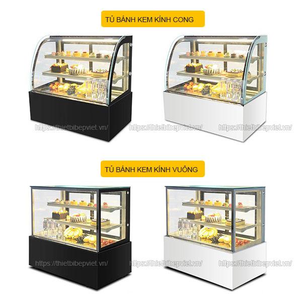 Tủ bánh kem mini để bàn Quang Huy