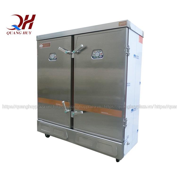 Tủ nấu cơm công nghiệp 24 khay chạy gas