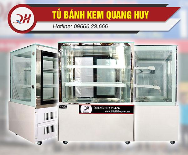Tủ trưng bày bánh kem Quang Huy Plaza