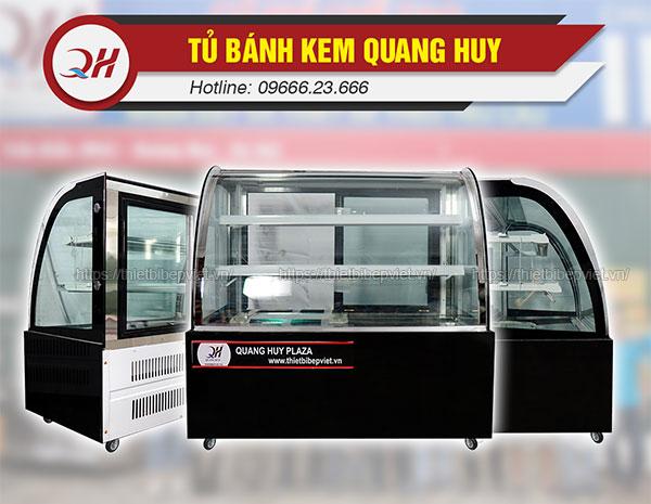 Tủ trưng bày bánh kem 1m2 Quang Huy