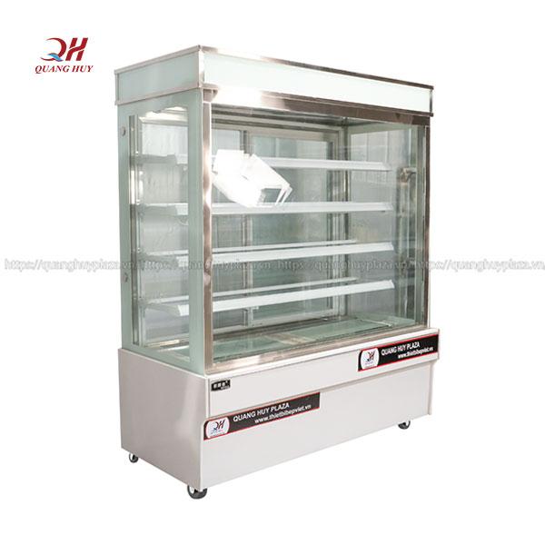 Tủ trưng bày bánh kem 5 tầng 4 khay Quang Huy