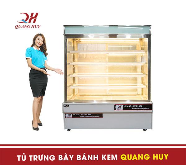 Tủ trưng bày bánh kem 5 tầng Quang Huy