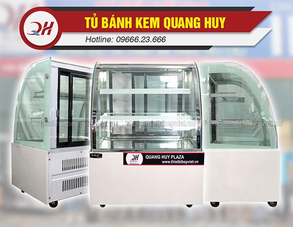 Tủ trưng bày bánh kem Quang Huy 90cm