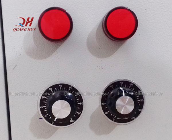 Điều chỉnh nhiệt độ tủ điều khiển nồi phở