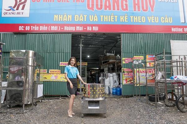 Máy làm lông gà Vũng Tàu của Quang Huy