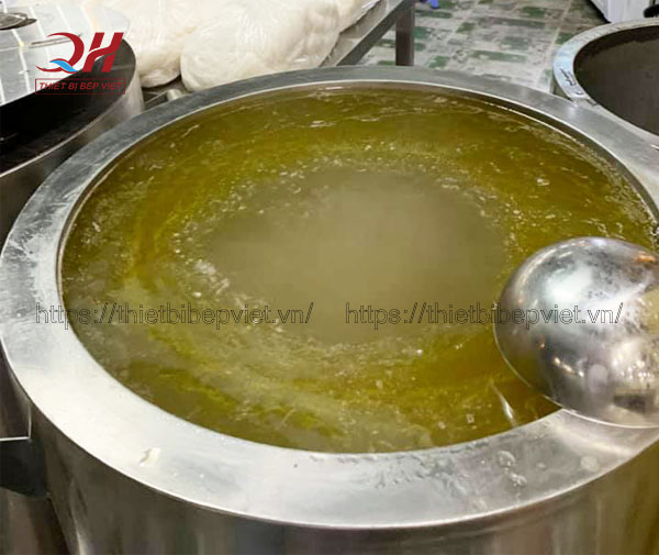Nồi điện nấu nước lèo phở Quang Huy