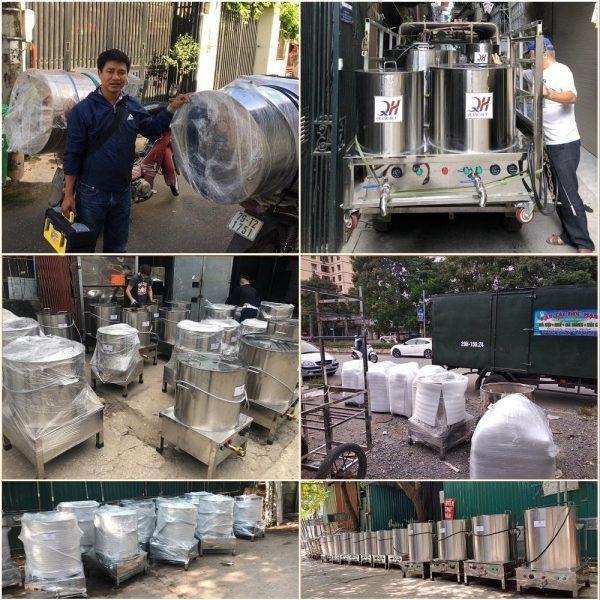 Quang Huy hỗ trợ vận chuyển, giao hàng nhanh