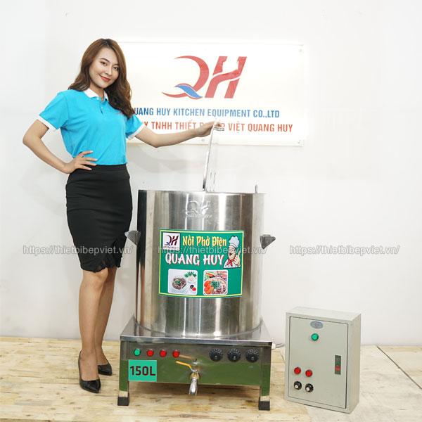 Tủ điện điều khiển nồi phở điện 150lit