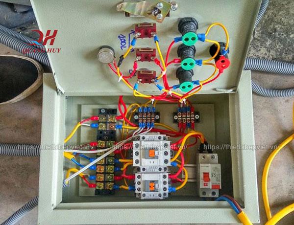 Cấu tạo chi tiết tủ điện điều khiển nồi điện nấu phở