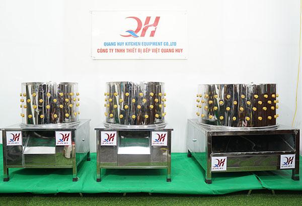 Mẫu máy làm gà vịt Quang Huy cập nhật mới nhất