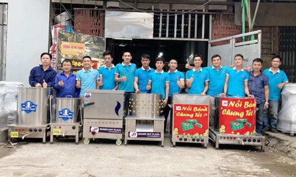 Xưởng Quang Huy gia công nồi phở điện cao cấp