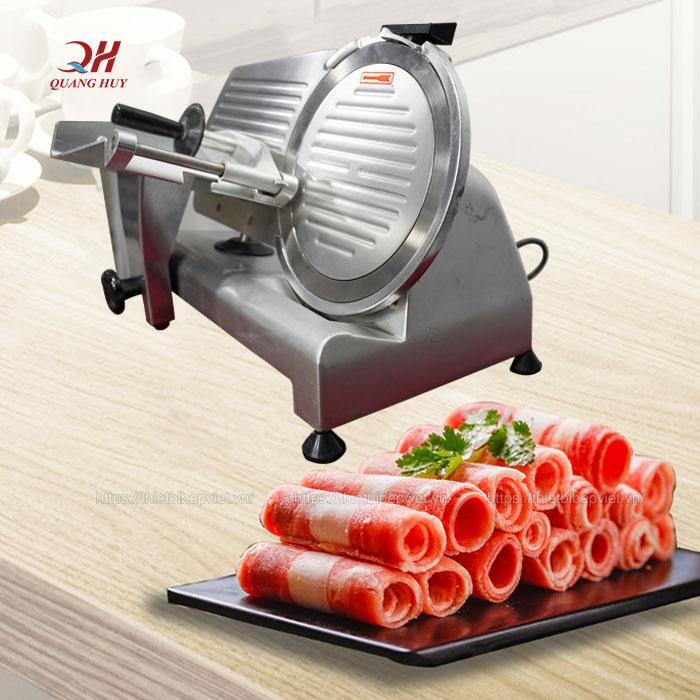 Máy cắt thịt bò Quang Huy ES-250