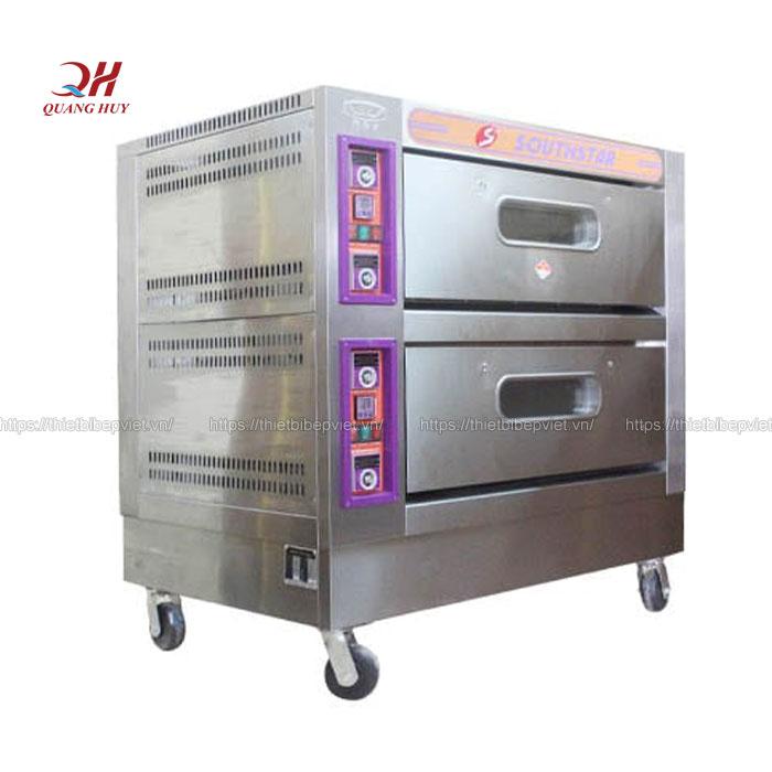 Lò nướng bánh mì 2 tầng 4 khay(điện)