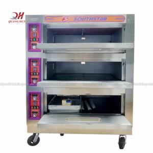 YXD-60C Lò nướng bánh mì, bánh kem 3 tầng 6 khay dùng điện