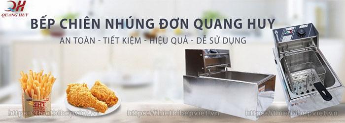 Bếp chiên nhúng đơn Quang Huy