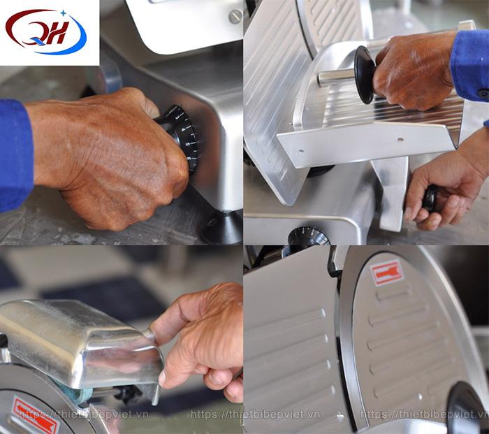 Lưu ý khi sử dụng máy thái thịt đông lạnh QH - 300