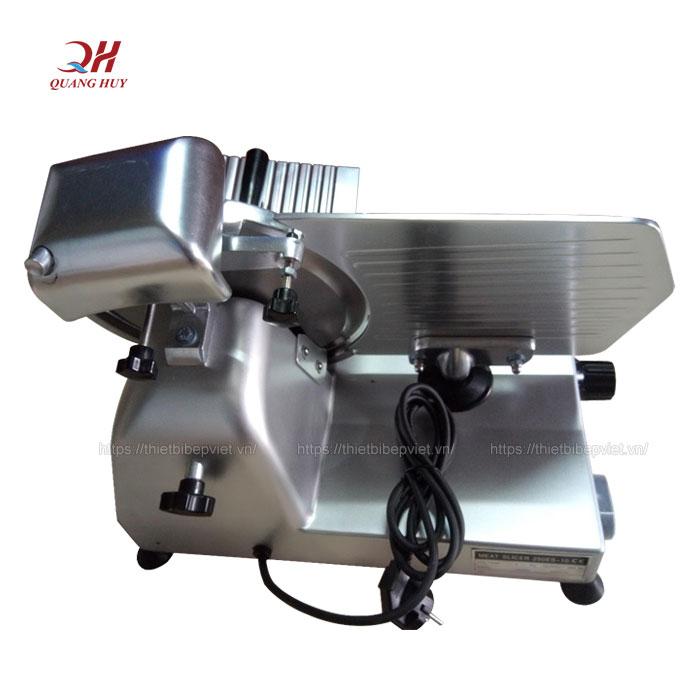 Mặt sau máy cắt thịt bò ES250 Quang Huy